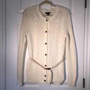 Tommy Hilfiger Button up Cardigan with Belt Size M